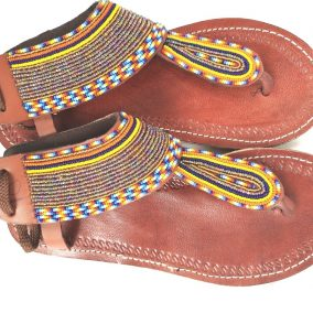 sandales femme - fermoire en lacets - vue de haut -T 38